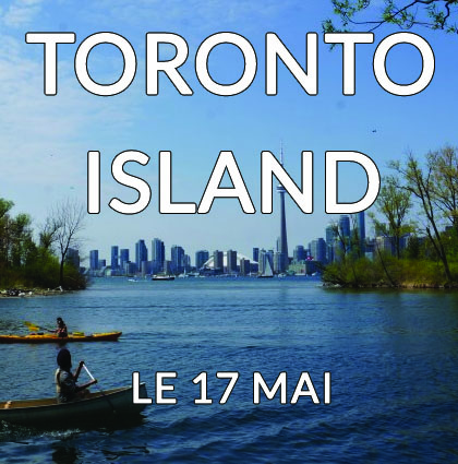 Détour du monde – Toronto island