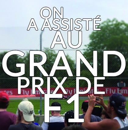 Détour du monde – Grand prix de F1