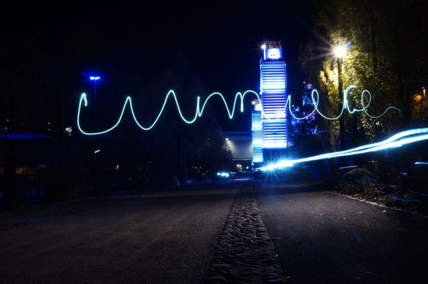 Light painting - lumière