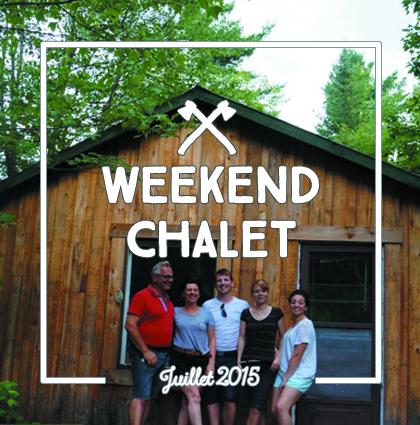 detour du monde – weekend chalet